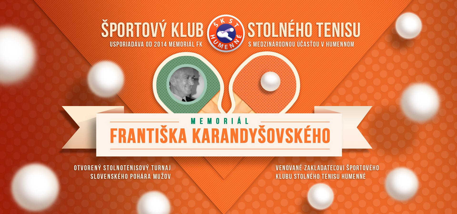 Memoriál Františka Karandišovského